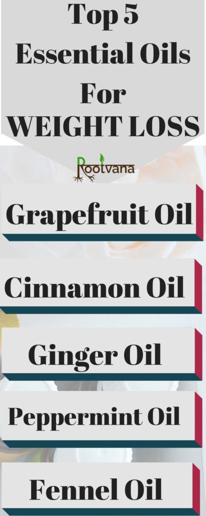 Top 5 Essential Oils For Weight Loss Rootvana Com